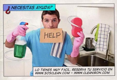 necesitas ayuda para la limpieza de tu casa, llama a clean & iron
