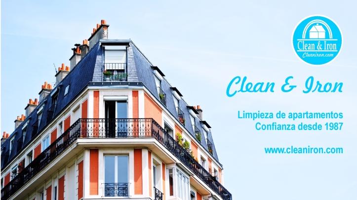 limpieza de apartamentos turisticos con personal propio. Gestión de llaves, gestión de ropa de cama y toallas.