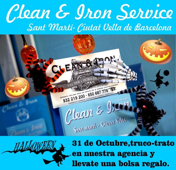 Fiesta de Halloween en Barcelona con limpieza a domicilio en Barcelona