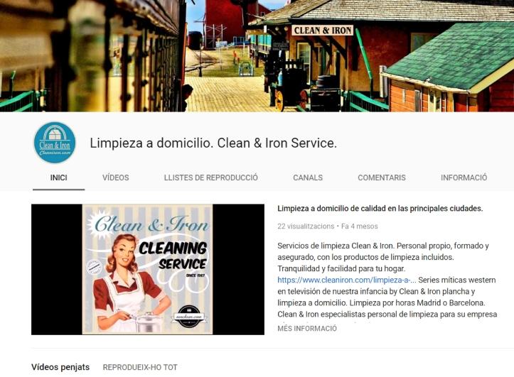limpieza a domicilio en youtube