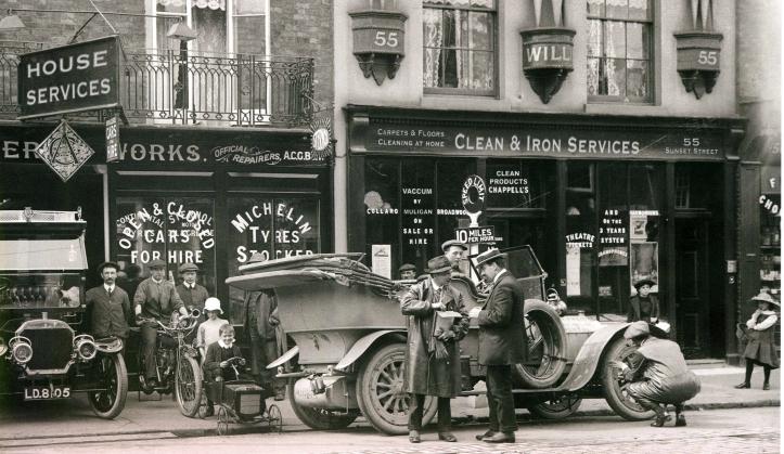 oficinapetitLimpieza a domicilio los origenes de Clean & Iron Service