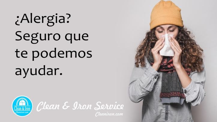 Alergia y clean and iron 2