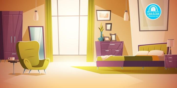 limpieza y desinfección de habitaciones