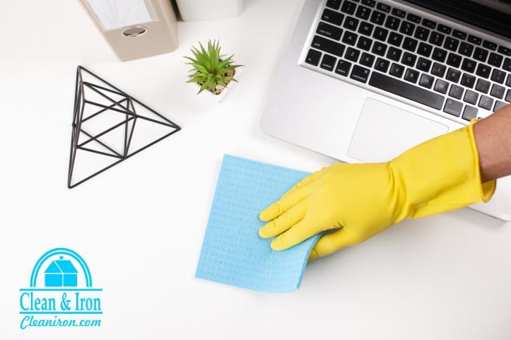limpieza y desinfección de oficinas